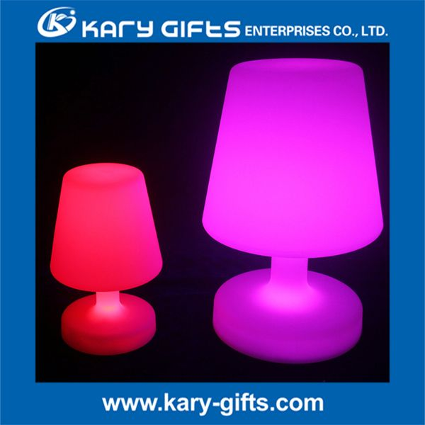 Rechargeable Color Change Led Table Lamp Decoration Light
