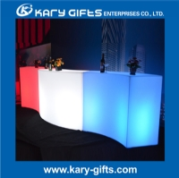 2015 New Design Long Curve LED Bar Counter KFT-14810