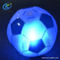 Glowing Tap Sensor Football Outdoor Beach Inflatable LED PVC Ball