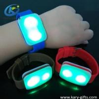Programmable DMX 512+RFID Controller Flashing Bracelet Led Light Wristband