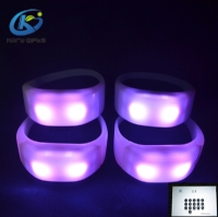 2.4G Remote Control LED Bracelets Event LED Lighting Wristbands