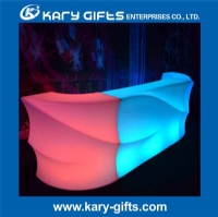 Colorful Illuminated Bar Table LED Flexible Light Home Bar Furniture KFT-160110