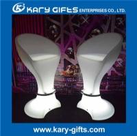 Commercial Bar Stool LED Bar Stool Plastic Step Stool Height Bar Stool KC-5611