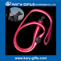 Custom Logo Pet Led Flashing Leash Night safety lighting Dog Harness