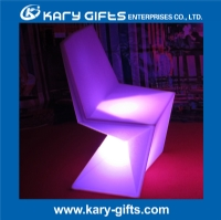 LED illuminated chair lighting dinning stool waterproof IP65