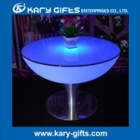 LED Moon light Event Furniture Wedding Table Decoration Round Table KFT-6056