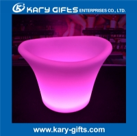 Light up Golw Rechargeable Led Ice Bucket