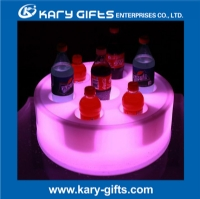 NEW Design Rechargeable Floating LED Tray With Holes KF-4016