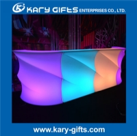 New Design LED Bar Counter Table With Lighting