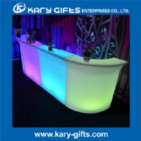 Rechargeable Plastic remote control led lighted portable bar