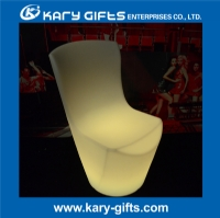 Wireless 16 Kinds Color Waterproof Illuminated Dinning LED Chair