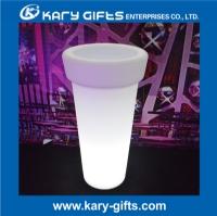 Rechargeable Container Gardening Modern Flower Pot LED Flower Pot Lighting KFP-4895