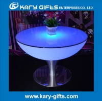 Remote Control Stainless Steel LED Table Bar KFT-6056