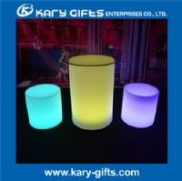 Remote control illuminated cheap coffee bar stools