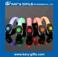 Sports Warming Flashing LED Arm Band, LED Safety Band, LED Light Plastic Band