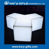 Waterproof Acrylic LED Bar Stools Pub Furniture KC-1140