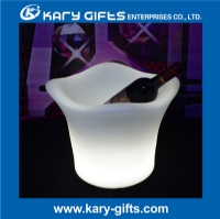 Waterproof rechargeable bar ice bucket illuminated ice bucket KFP-3627