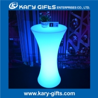 waterproof remote control RGB multi color led cocktail table KFT-6011