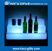 bar club use remote control led wine shelf led bottle stand KF-5630