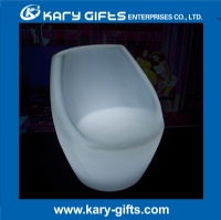 remote control rechargeable waterproof leisure led coffee chair